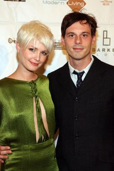 LOS ANGELES, CA - AUGUST 13: Actress Whitney Able and Scoot McNairy arrive at 'In Search of A Midnight Kiss' Los Angeles premiere and party on August 13, 2008 in Los Angeles, California. (Photo by Maury Phillips/WireImage)