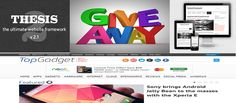 Giveaway #2: Win Genesis1.9, Thesis 2.1 and Marketer Delight 3 and 2 Topgadget theme