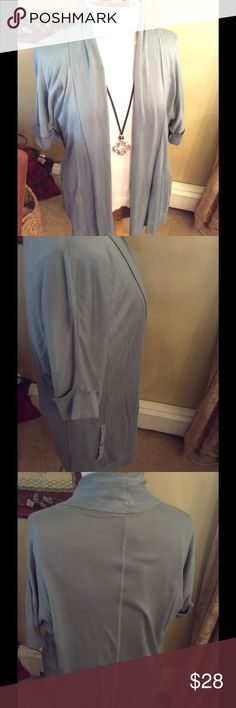 Pretty Open Cardigan from LOFT Cozy and fabulous topper! Ann Taylor LOFT Sweaters Cardigans