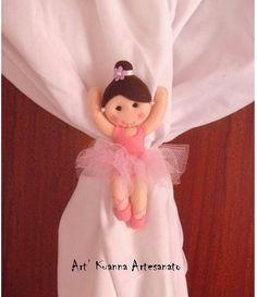 linda bailarina prendedor de cortina                                                                                                                                                                                 Más