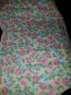 Back of Rylee's little quilt