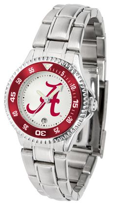 Alabama Crimson Tide Womens Competitor Steel Watch