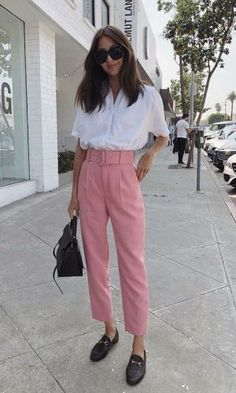 Most current Totally Free Business Outfit flache schuhe Tips, Fashion Mode, Look Fashion, Trendy Fashion, Fashion Trends, Trendy Style, Womens Fashion, Ladies Fashion, Fashion Ideas, Workwear Fashion