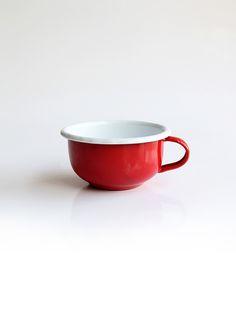 Mug rojo #enamelware #peltre #mug #red #rojo #design #tea #coffee #colombia #criolla