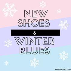New Shoes & Winter Blues #blog #blogging #saucony #kinvara #running #runningshoes