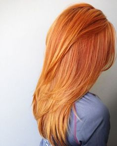 pumpkin hair couleur