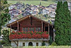Suiza - Casitas de cuento - Oberhofen