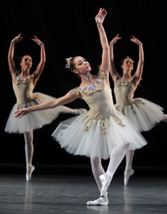 "Leanne Cope, ""Diamonds"" from ""Jewels"" (G. Balanchine), The Royal Ballet. And now she's in ""An American in Paris"" on Broadway!"