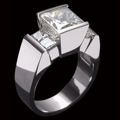 John Atencio ~ Ventana Quad Engagement Ring ~  it's on my finger now!!