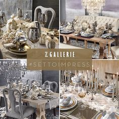 """WEBSTA @ zgallerie - GIVEAWAY TIME! Transform your table into a feast for the eyes this fall, with a touch of """"Z"""". All month long, we'll be featuring holiday dining inspiration, and giving away two dream tablescapes! 2 Ways to Enter:1. ↔️Regram your favorite photo tagged #SetToImpress from our Instagram feed tag a friend you'd invite to celebrate in style (share with #SetToImpress).2. Snap a photo of your favorite tablescape in a Z Gallerie store share it with #SetToImpress and @zgallerie. Instagram Shop, Instagram Posts, What's Your Style, Tablescapes, Table Settings, Table Decorations, Invite, Holiday, Giveaway"""