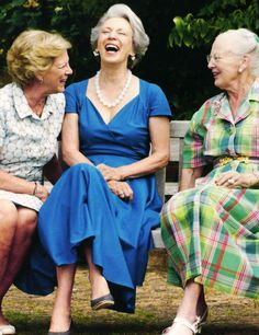 Danish Royal Sisters-Anne-Marie, Benedikte and Margrethe