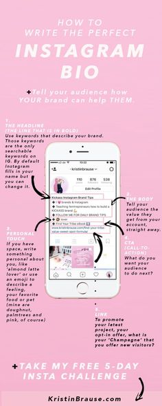 The Instagram bio is the first thing I check out when I land on somebody's IG account. Why? Because I want to know if their brand is a good fit for mine. Make a good first impression Remember you only have 150 characters so make the most of it. (scheduled via http://www.tailwindapp.com?utm_source=pinterest&utm_medium=twpin&utm_content=post202599165&utm_campaign=scheduler_attribution)