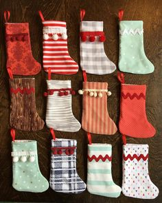 Preparing for the holiday season is mildly painful in September, but also SO FUN. 😬🎄👻 These mini stockings will be at Indigo Baby here in Santa Fe! . . #handmade #handmadehome #buyhandmade #sewing #imadethis #makersgonnamake #etsyshop #thatsdarling #abmcrafty #etsy #etsyseller #abmathome #abmlife #abmlifeiscolorful #diy #wip #maker #feelingcrafty #mybeautifulmess #makersmovement