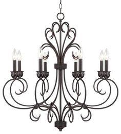 iron candelier