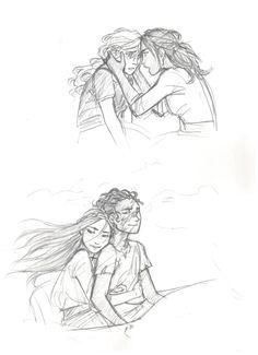 The Heroes of Olympus by drakonarinka