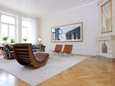 Bright Three Bedroom Apartment in Central Stockholm | HomeDSGN, a daily source for inspiration and fresh ideas on interior design and home decoration.