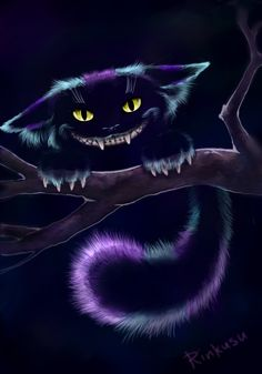 Чеширский кот на ~ Ooyamaneko на DeviantArt Cheshire Cat #Wonderland