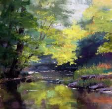 Pastel Artists Paintings - Bing Images-Looks like a Watercolor. Pastel Landscape, Watercolor Landscape, Landscape Art, Landscape Paintings, Watercolor Paintings, Art Aquarelle, Pastel Artwork, Paintings I Love, Pastel Paintings