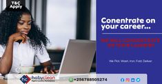 Concentrate on building and developing in your career and will concentrate on your laundry. We will pick it every week, wash and iron it—and then deliver it back to you. To know more 👉Subscribe, download our HobyClean Customer app or call us at +256776515244 or 🔗www.hobyclean.com #Hobyclean #stains #stainremoval #laundry #laundryservice #laundryday #laundrykiloan #laundrycoin #laundryekspress #laundryroom #laundrytime #coinlaundry #speedqueen #laundrysatuan #carpetcleaning #dirtyclothes #vendo Coin Laundry, Laundry Room, Online Laundry, Laundry Service, How To Clean Carpet, Career, Stains, How To Apply, Iron
