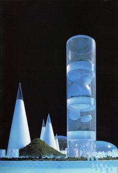 Shin Takamatsu. l'Arca 77 December 1993: 33   RNDRD