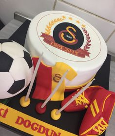 Galatasaray birthday cake