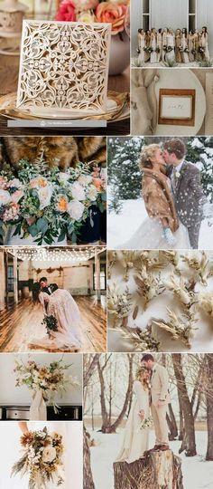ΧΕΙΜΩΝΙΑΤΙΚΟΣ ΓΑΜΟΣ 2020 ΣΤΙΣ ΑΠΟΧΡΩΣΕΙΣ ΤΟΥ ΜΠΕΖ.Μια ουδέτερη απόχρωση χρωμάτων έχουν σαν αποτέλεσμα έναν μετριοπαθή κλασικό γάμο. Lace Wedding, Wedding Dresses, Table Decorations, Future, Home Decor, Bride Dresses, Bridal Gowns, Future Tense, Decoration Home
