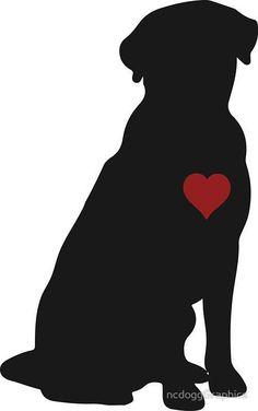Labrador Retriever Silhouette #labradorretriever #Labradordogs