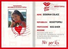 Ecco il mio passaporto da Super Eroe! Iscriviti subito a Kiss Otto e potrai vincere una delle 500 tessere prepagate Giunti!