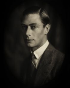 Duke of York (later King George VI) by Bertram Park Father of queen Elizabeth II of the United Kingdom