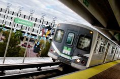 Sunday's official coming of Metrorail service to the Miami Intermodal Center will integrate Miami-Dade County's rapid transit system with Miami International Airport. Best Cruise, Cruise Port, Metro Rail, Rapid Transit, Miami Dade County, Free Travel, The Neighbourhood, Places To Go, Public