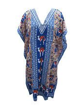 Evening Wear Maxi Cotton Caftan Bohemian Gypsy Cover Up