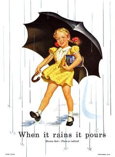 1952 ad morton salt #great illustration