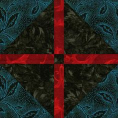 Texas Puzzle Quilt Block - © Janet Wickell