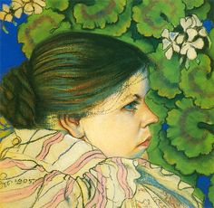 The Athenaeum - The Artist's Wife with Geraniums (Stanislaw Wyspianski - )