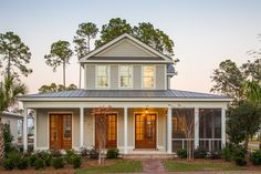 Beautiful Two-Story Home with Side Porch | Outdoor Living Palmetto Bluff | Lowcountry Living | Southern Style | Luxury Real Estate Bluffton, South Carolina