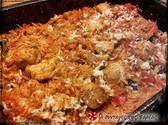 Κοτόπουλο γιουβετσάκι με σπυρωτό κριθαράκι #sintagespareas #kotopoulo #giouvetsi