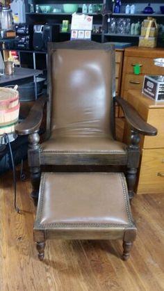 Comfy chair + ottoman $79.50