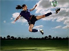 Marta Vieira da Silva - from Brazil. Probably the best female soccer player in the world right now