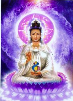 I had her on my mind these last couple of days, so I decided to dedicate today's reel to Kuan Yin. Known as the Goddess of Mercy and Compassion, the Bodhisattva Kuan Yin (Guan Yin) is a Chine… Llama Violeta, Ascended Masters, Spiritual Power, Sacred Feminine, Taoism, Guanyin, Buddhist Art, Gods And Goddesses, Art Plastique