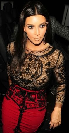 Kim Kardashian #fashion #celebrity #Kardashians