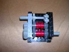 Instructions for lego gearbox with 4 gears - YouTube