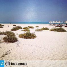 Our honeymoon expert Baiba is sending us sunshine from the Park Hyatt Abu Dhabi.