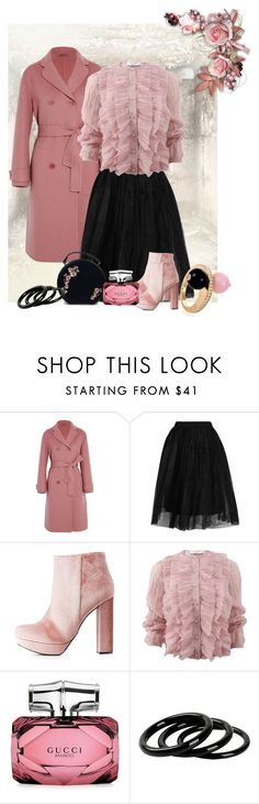 """""""Untitled #278"""" by riuk ❤ liked on Polyvore featuring Bottega Veneta, Topshop, Charlotte Russe, Givenchy, Gucci and Furla"""