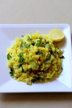 Aloo Poha recipe is a maharashtrian snack recipe and is a hugely popular dish made using flattened rice and potato and so is called as potato poha recipe. Veg Dishes, Vegetable Dishes, Poha Recipe, Breakfast Recipes, Snack Recipes, Vegetarian Recipes, Healthy Recipes, Indian Kitchen, Indian Snacks