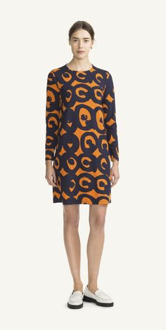 Ready-to-wear collection – Autumn 2015 Marimekko Dress, Textile Design, Fashion Prints, Dressmaking, Ready To Wear, Tunic Tops, Summer Dresses, Clothes For Women, Casual
