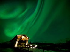 Best Places to Stay: Northern Lights. Take The Scotsman's advive and rent a campervan and stay on the ferry and save 2K