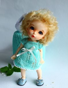 Outfit Mint tenderness dolls format Tiny PukiFee by TashkasBears, $38.00