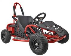 Take a look at a really cool kids off road electric go kart by Go Bowen. This 1000 watt off road go kart will provide your child with hours of off road fun! Electric Go Kart, Electric Cars, Karting, Gas Go Kart, Offroad, Hors Route, Pocket Bike, Roll Cage, Kids Ride On
