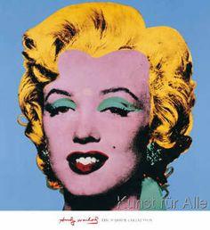 Andy Warhol - Shot - Blue Marilyn