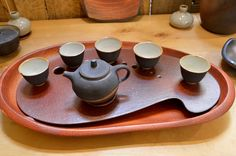 A tea service by  Petr Novak. Really lovely!